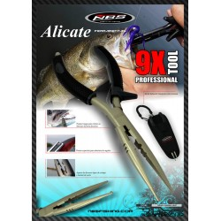 Alicate NBS 9x FISHING PILLER 23 CM