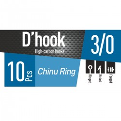 Anzóis DAIWA D'Hook Chinu Ring